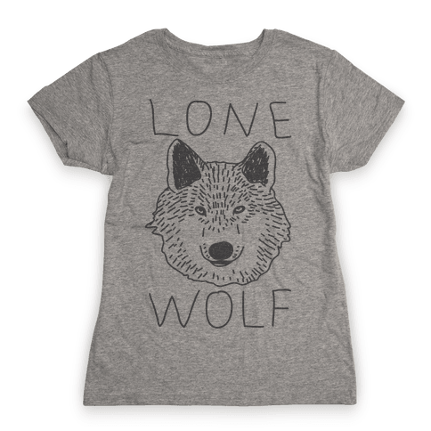 Lone Wolf Womens T-Shirt