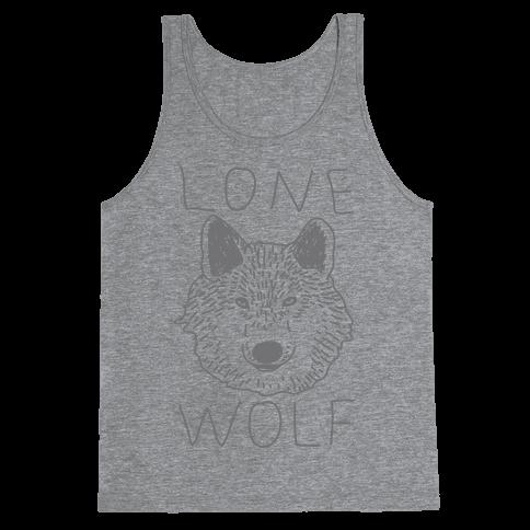 Lone Wolf Tank Top