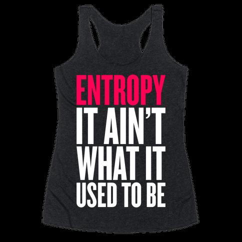 Entropy Racerback Tank Top