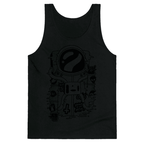 Space Is So Metal Tank Top