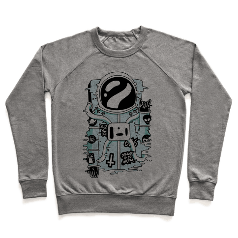Space Is So Metal Pullover