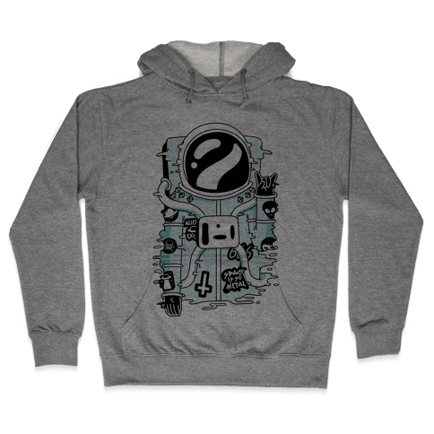 Space Is So Metal Hooded Sweatshirt