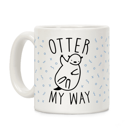 Otter My Way Coffee Mug