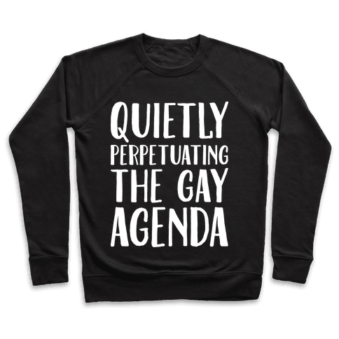 Quietly Perpetuating the Gay Agenda Pullover