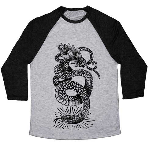 Laurel Snake Baseball Tee