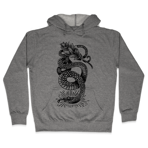 Laurel Snake Hooded Sweatshirt