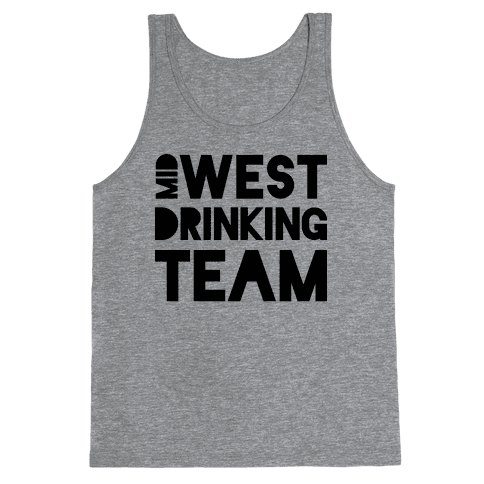 Midwest Drinking Team Tank Top
