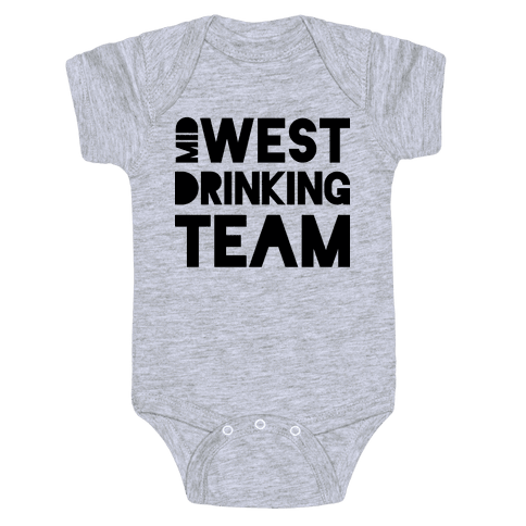 Midwest Drinking Team Baby Onesy