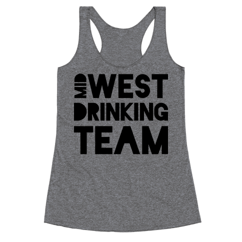 Midwest Drinking Team Racerback Tank Top