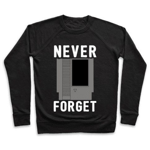 NES: Never Forget Pullover