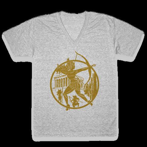 Women of The Amazon V-Neck Tee Shirt