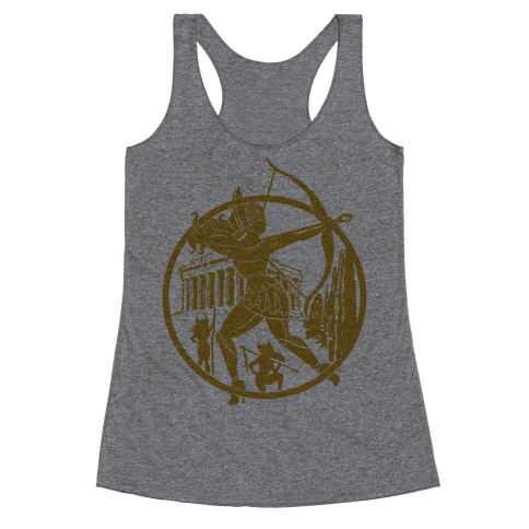 Women of The Amazon Racerback Tank Top