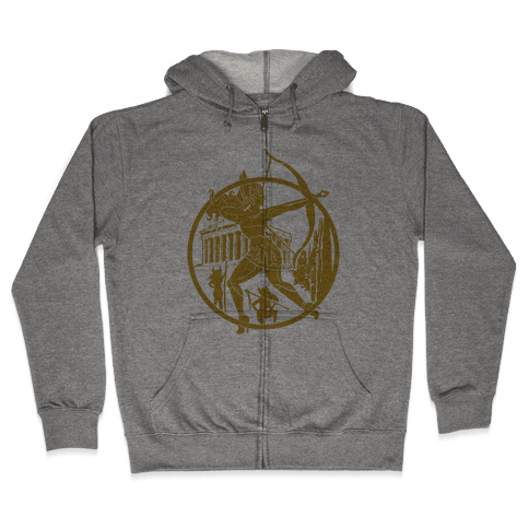 Women of The Amazon Zip Hoodie