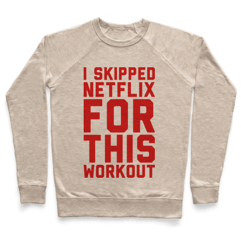 I Skipped Netflix For This Workout Pullover