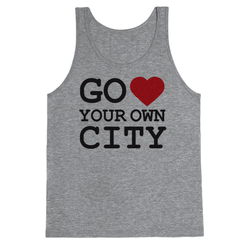 Go Heart Your Own City Tank