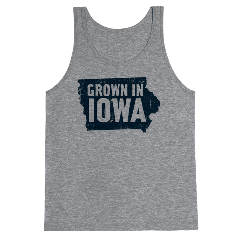 Grown in Iowa Tank Top