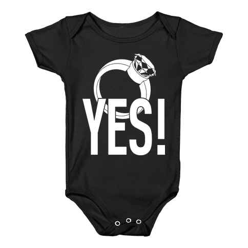 YES! (Bachelorette) Baby Onesy