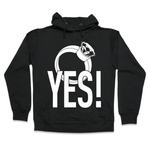YES! (Bachelorette) Hooded Sweatshirt
