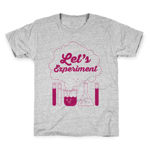 Let's Experiment Kids T-Shirt