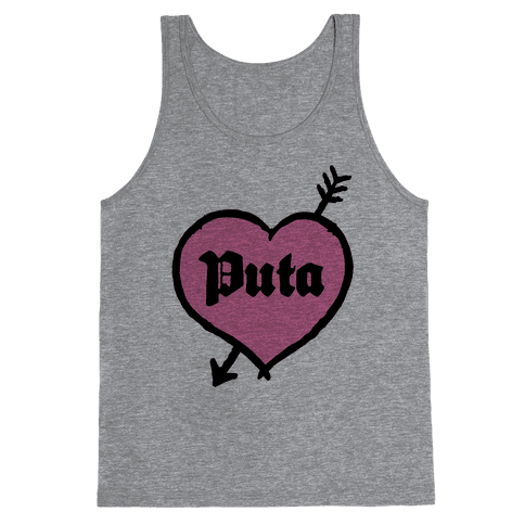 Puta Love Tank Top