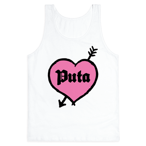 Puta Love Tank Top