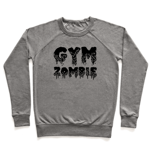 Gym Zombie Pullover
