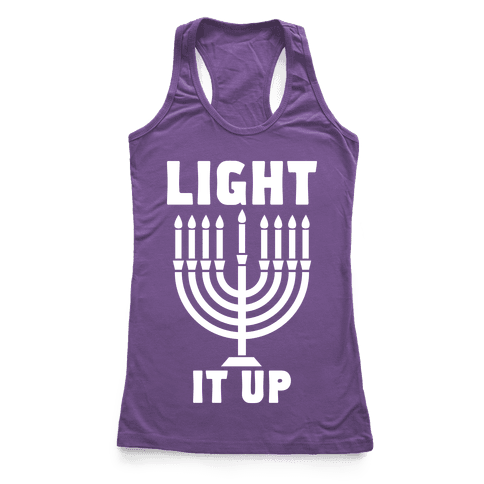 Light It Up Racerback Tank Top