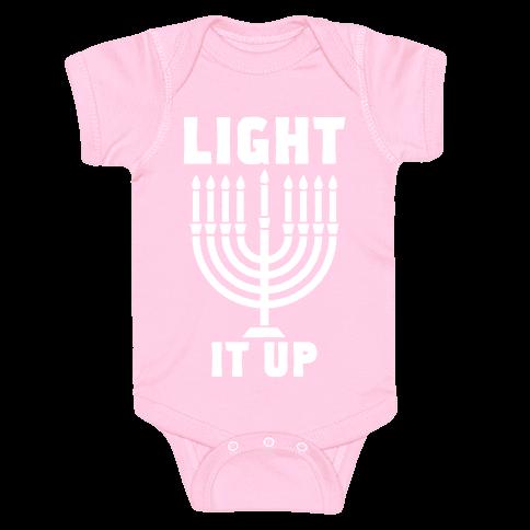 Light It Up Baby Onesy