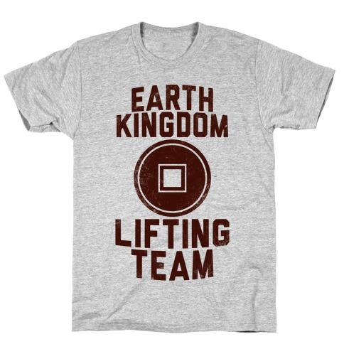 Earth Kingdom Lifting Team T-Shirt
