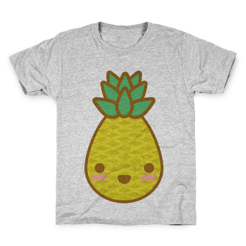 Kawaii Pineapple Kids T-Shirt