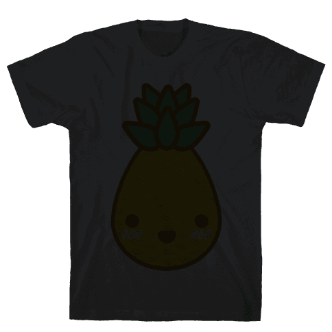 Kawaii Pineapple Mens T-Shirt