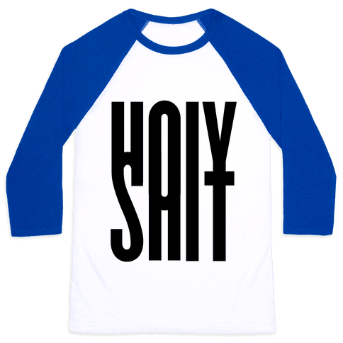 Holy Shit Baseball Tee