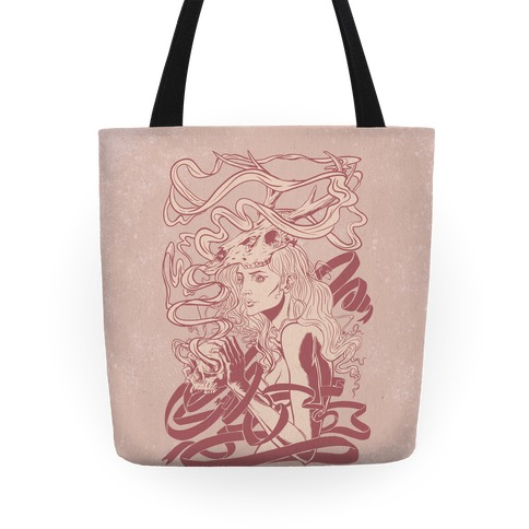 Skull Witch Tote