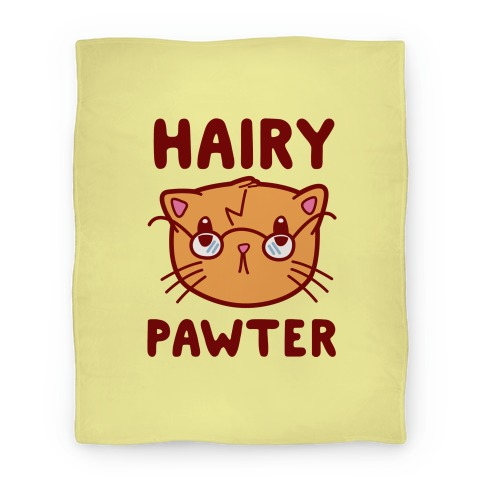Hairy Pawter Blanket