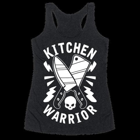 Kitchen Warrior Racerback Tank Top