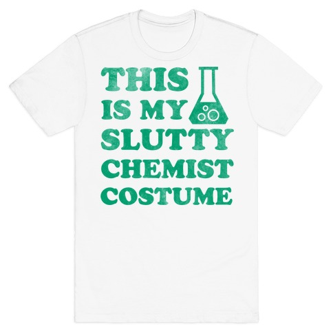 This is My Slutty Chemist Costume Mens T-Shirt