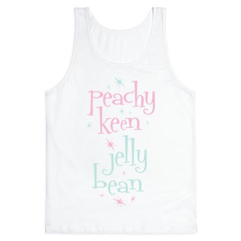 Peachy Keen Jelly Bean Tank Top