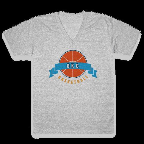 Oklahoma City V-Neck Tee Shirt