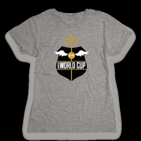 Quidditch World Cup Womens T-Shirt