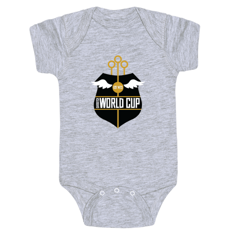Quidditch World Cup Baby Onesy
