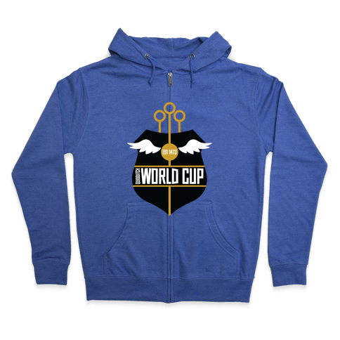 Quidditch World Cup Zip Hoodie