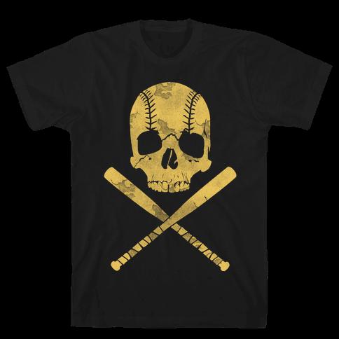 Baseball Roger Mens T-Shirt