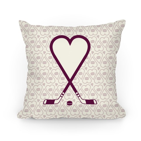 Hockey Love Pillow