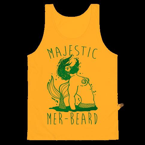 Majestic Mer-Beard Tank Top