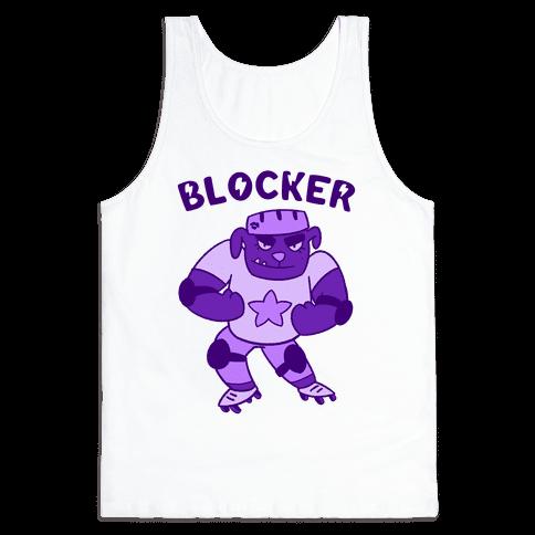 Blocker (Roller Derby) Tank Top