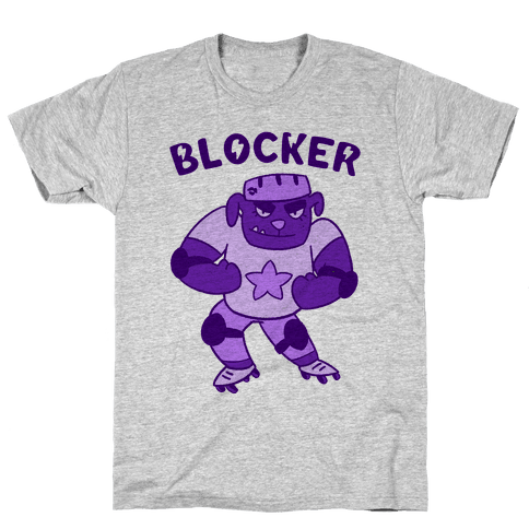 Blocker (Roller Derby) Mens T-Shirt