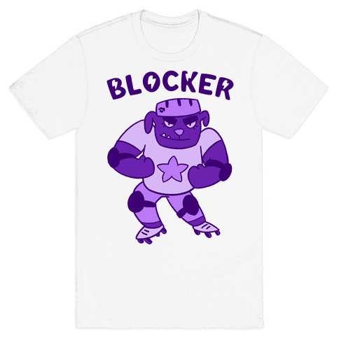 Blocker (Roller Derby) Mens T-Shirt