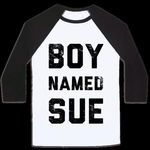 Boy Named Sue Baseball Tee