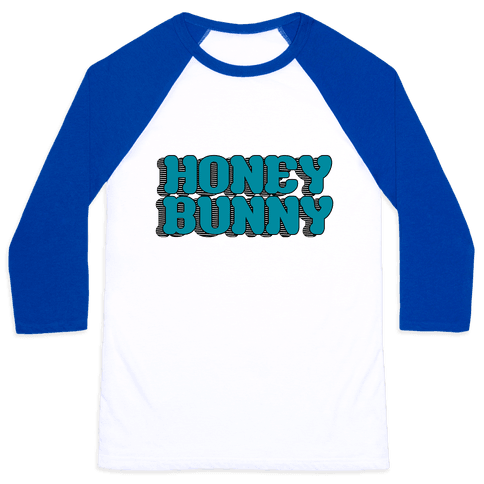 Honey Bunny Baseball Tee
