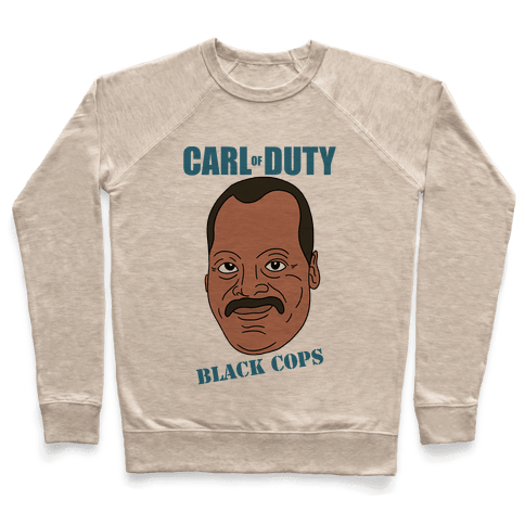 Carl Of Duty: Black Cops Pullover